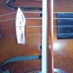 Ejemplo de clase particular de violín